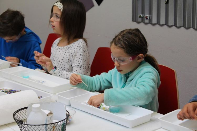homeschool Glass Art classes